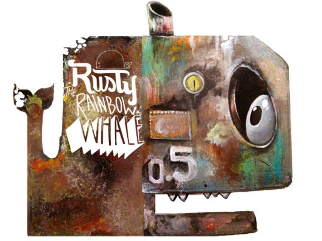 Rusty the Rainbow Whale's video poster