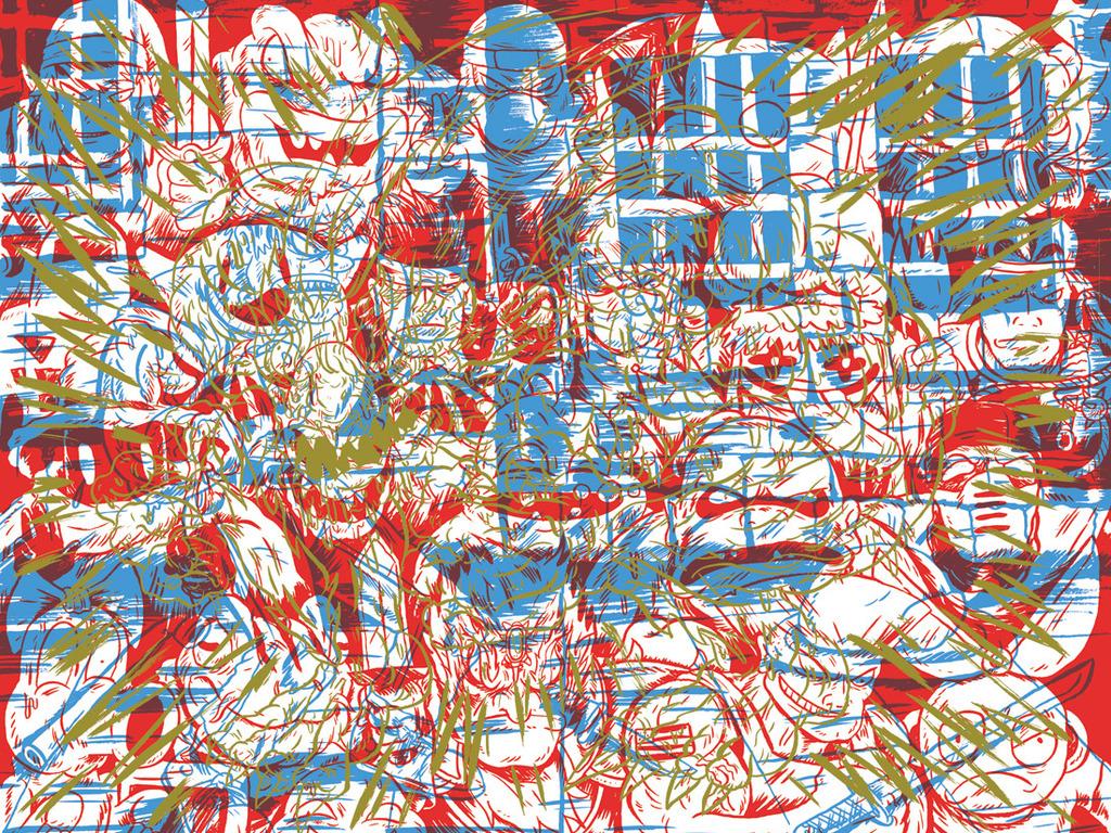 Bits In Multiples of 8:An 8bit-64bit Video Game Fan-Art Book's video poster