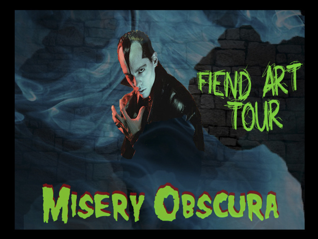 Misery Obscura Tour: FIEND Art & Photography of Eerie Von's video poster