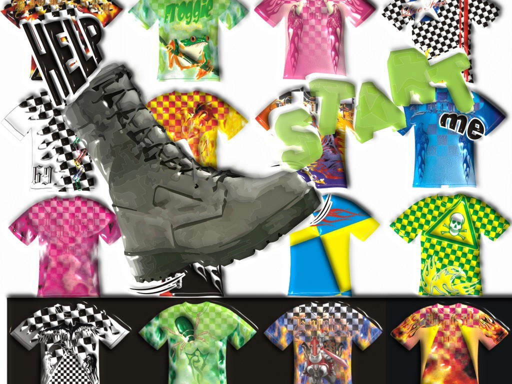 CHECKERBOARD T-SHIRTS's video poster