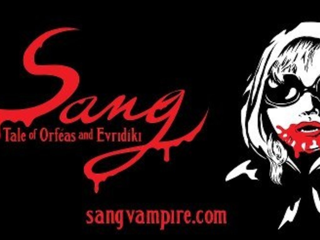 Sang ~The Bloody Tale of Orfeas and Evridiki's video poster