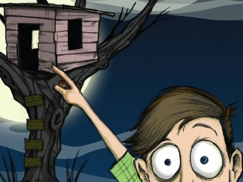 There's a Zombie in My Treehouse! - iBook and Sequel's video poster