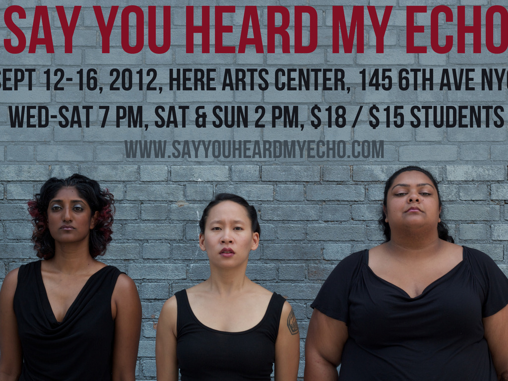 Say You Heard My Echo @ NYC's Locating the Sacred Festival!'s video poster