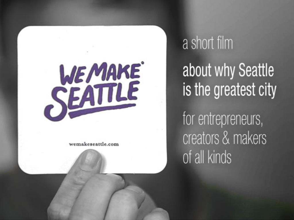We Make Seattle (a short film)'s video poster