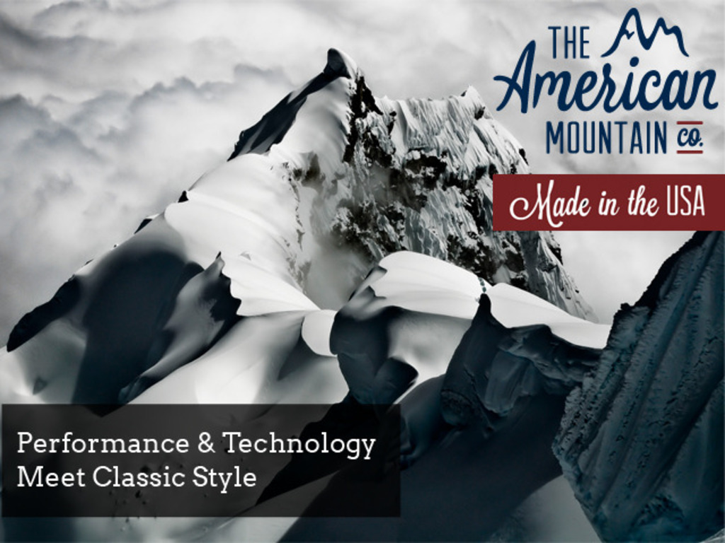 The American Mountain Co. - Fine Mountain Wear's video poster