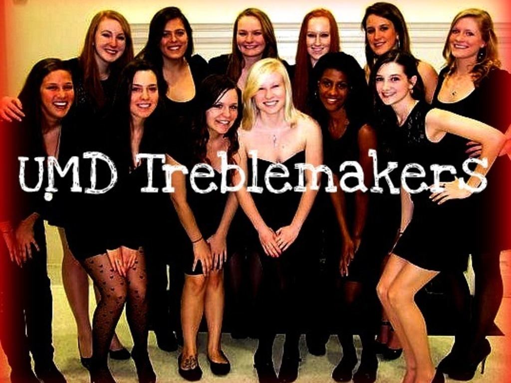 UMD Treblemakers All-Female A Cappella CD's video poster