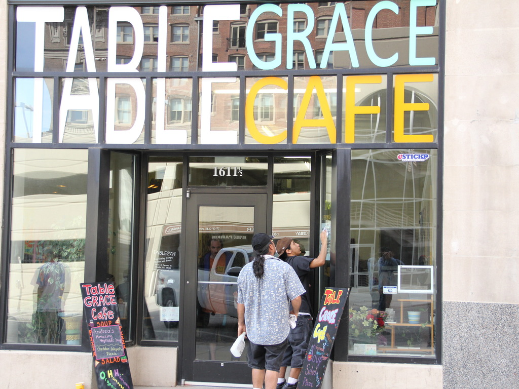 """Get Table Grace Cafe Documentary """"rolling""""'s video poster"""