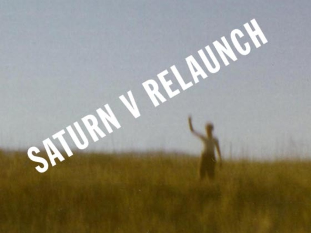 Saturn V Relaunch's video poster
