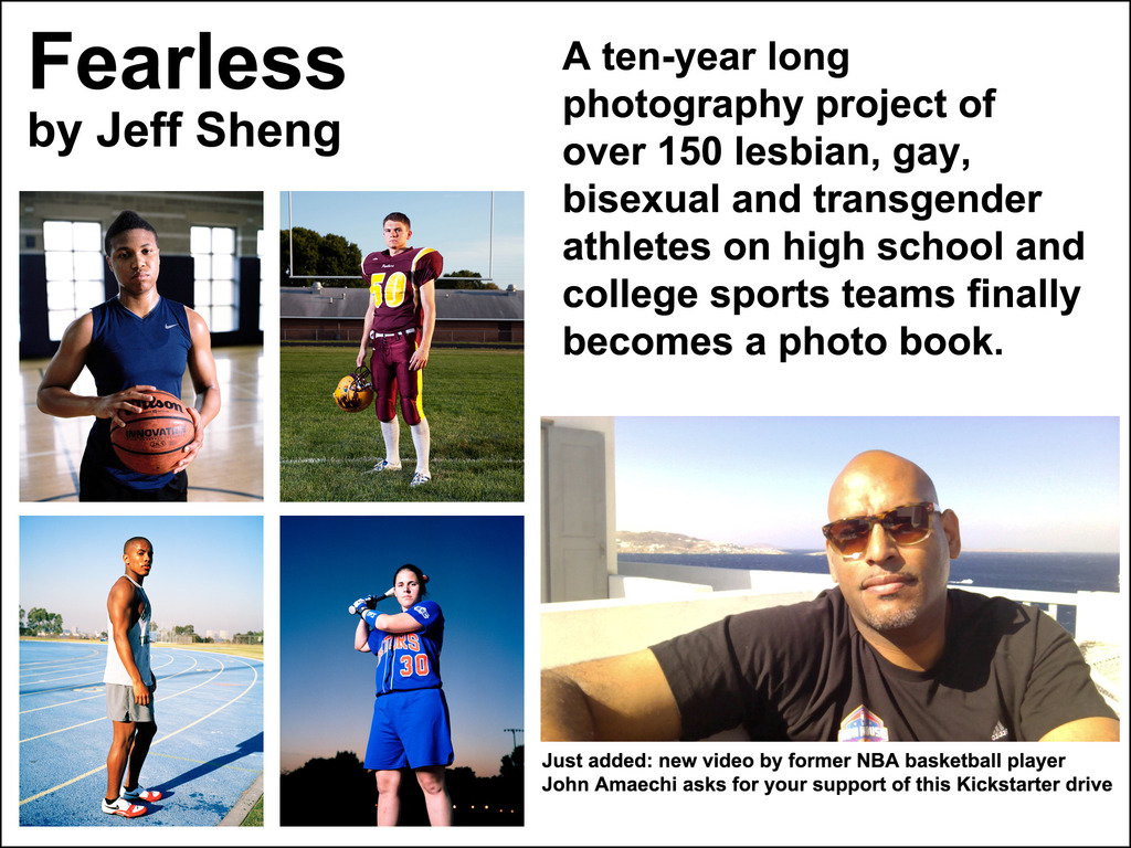 Fearless Project (LGBTQ Student Athletes) Photography Book's video poster