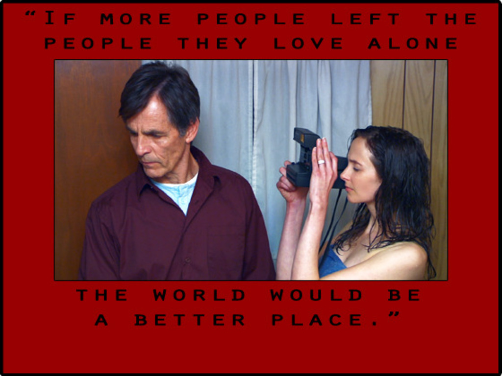 LOST TO LOVE - a very independent feature film's video poster