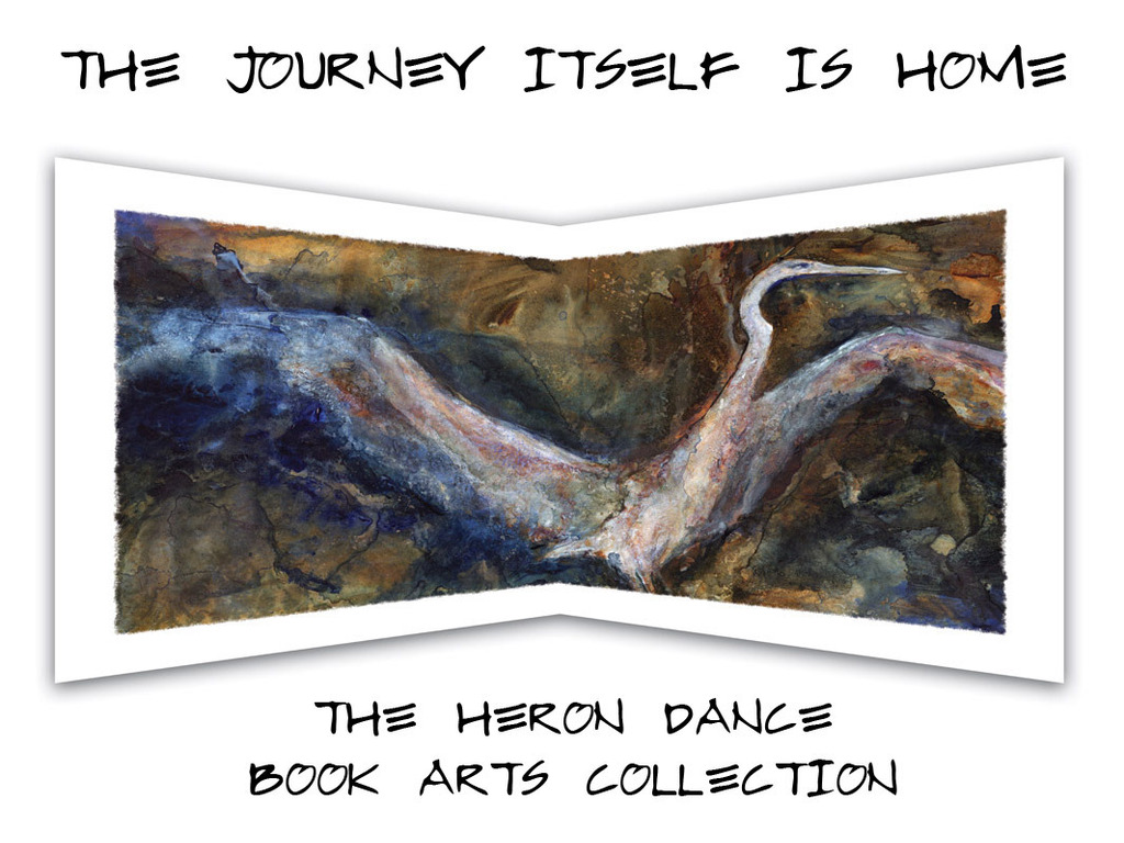 A Heron Dance Book Arts Collection's video poster