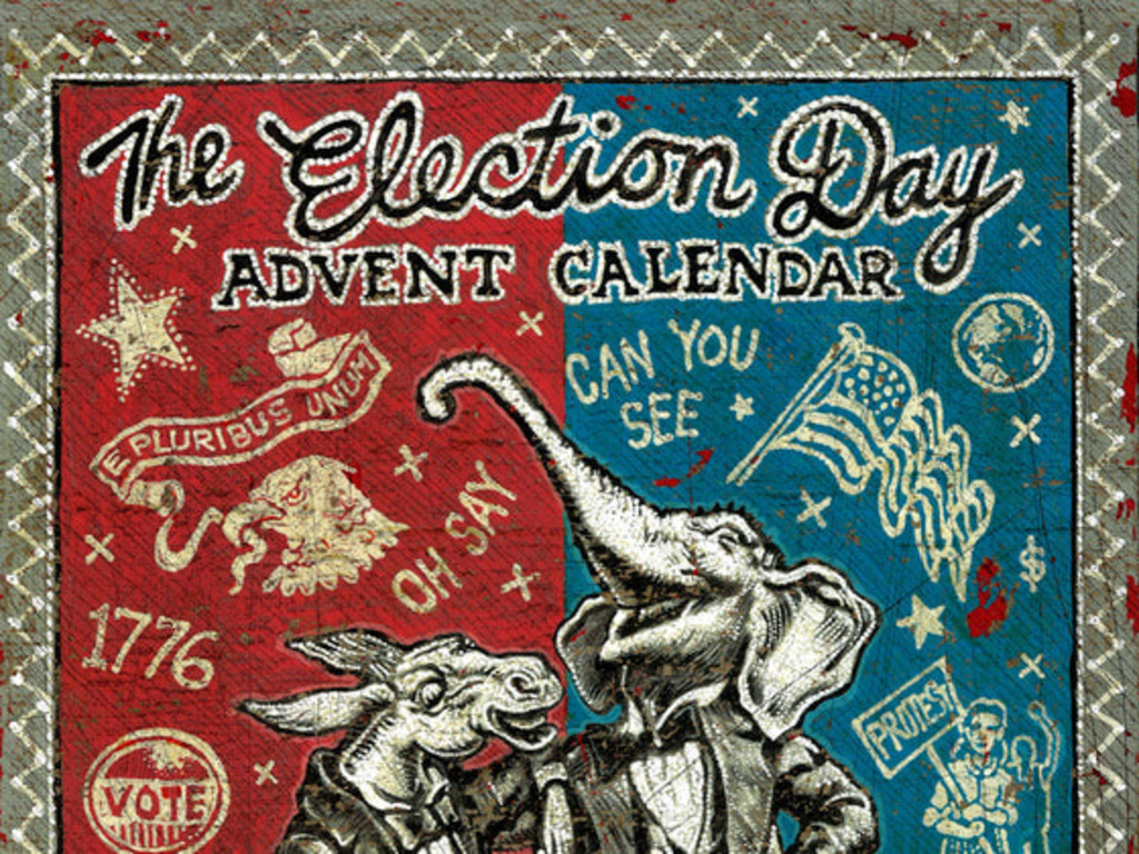 The Election Day Advent Calendar's video poster