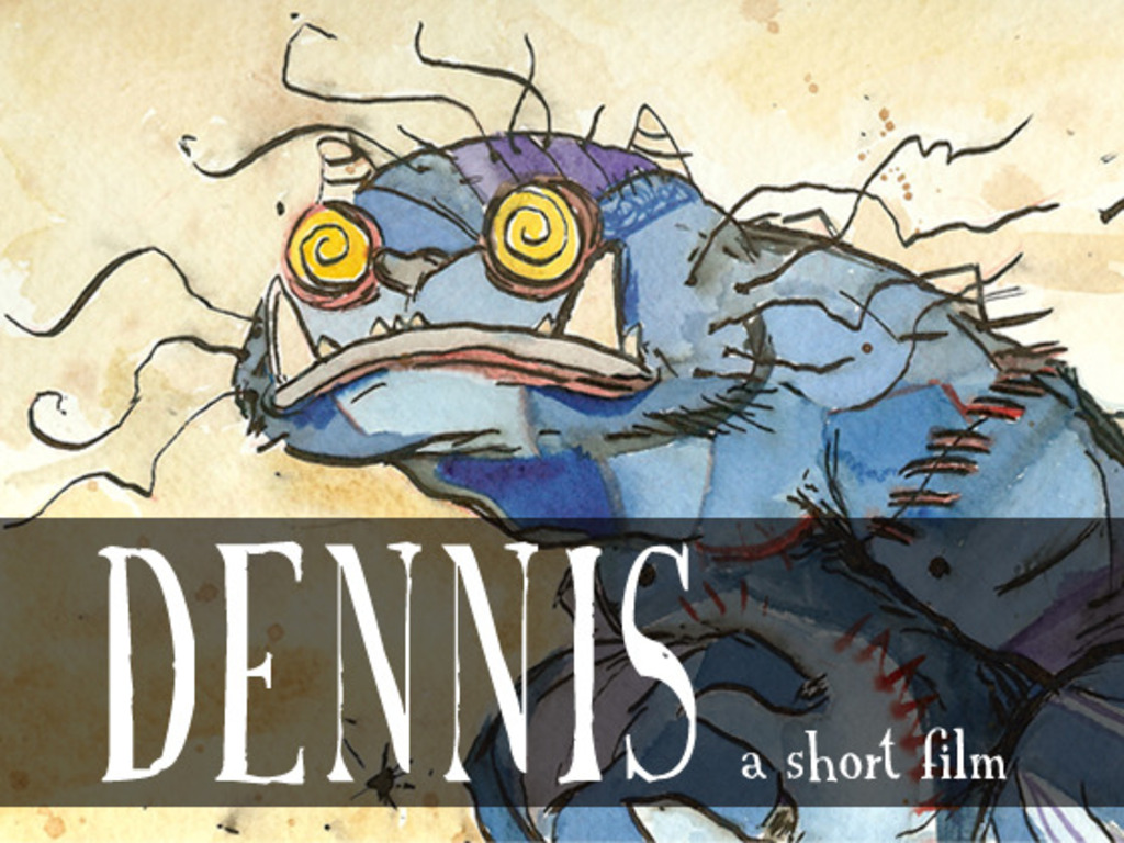 Help a hungry monster eat a child by supporting the short film DENNIS's video poster
