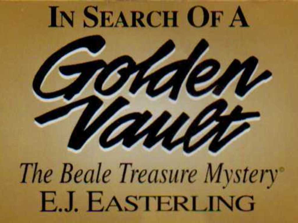 In Search Of A Golden Vault:The Beale Treasure Mystery Audio's video poster