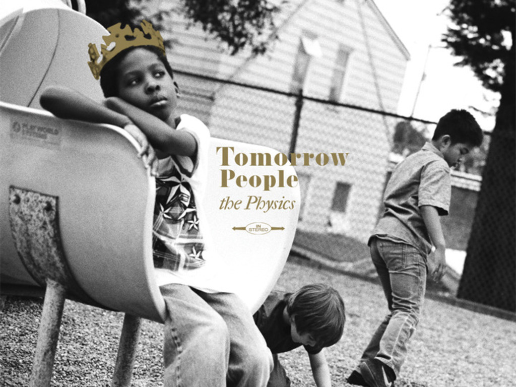 THE PHYSICS: TOMORROW PEOPLE's video poster