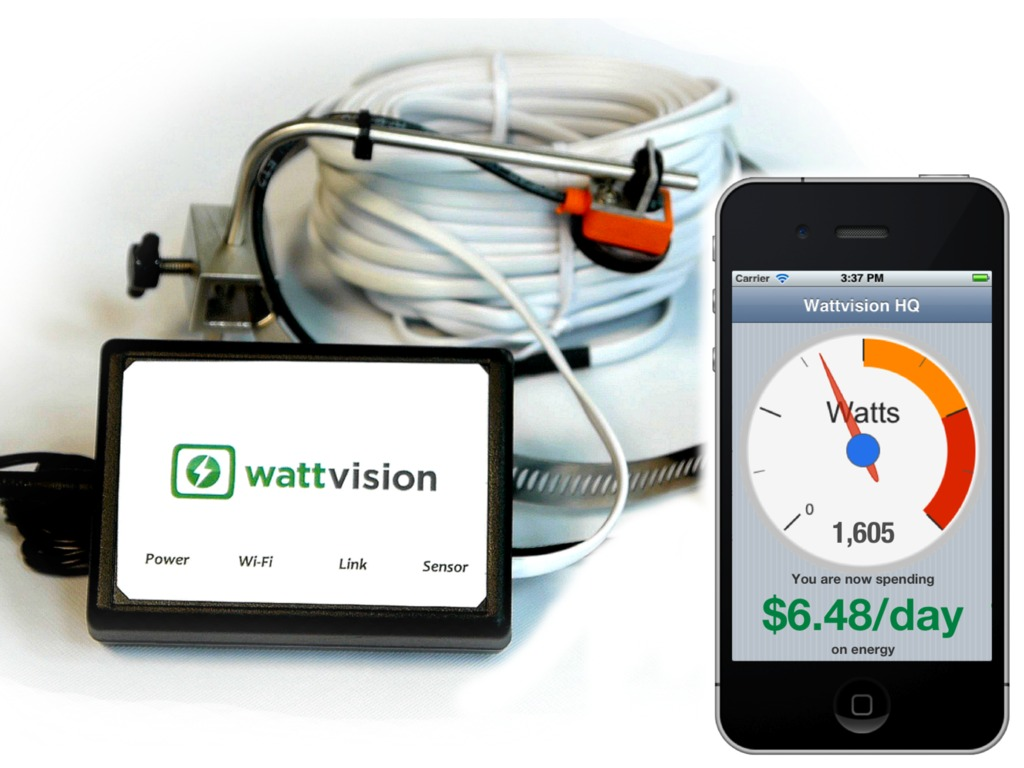 Wattvision - The Smart Energy Sensor's video poster