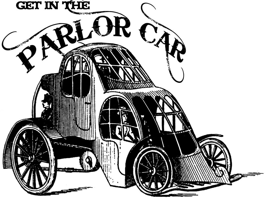The Four Passenger Pedal Powered Steampunk Parlor Car's video poster