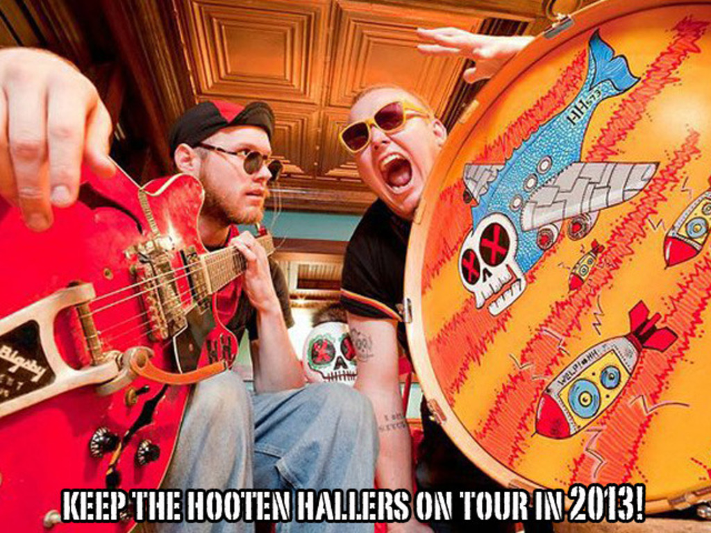 Keep The Hooten Hallers on tour in 2013!'s video poster