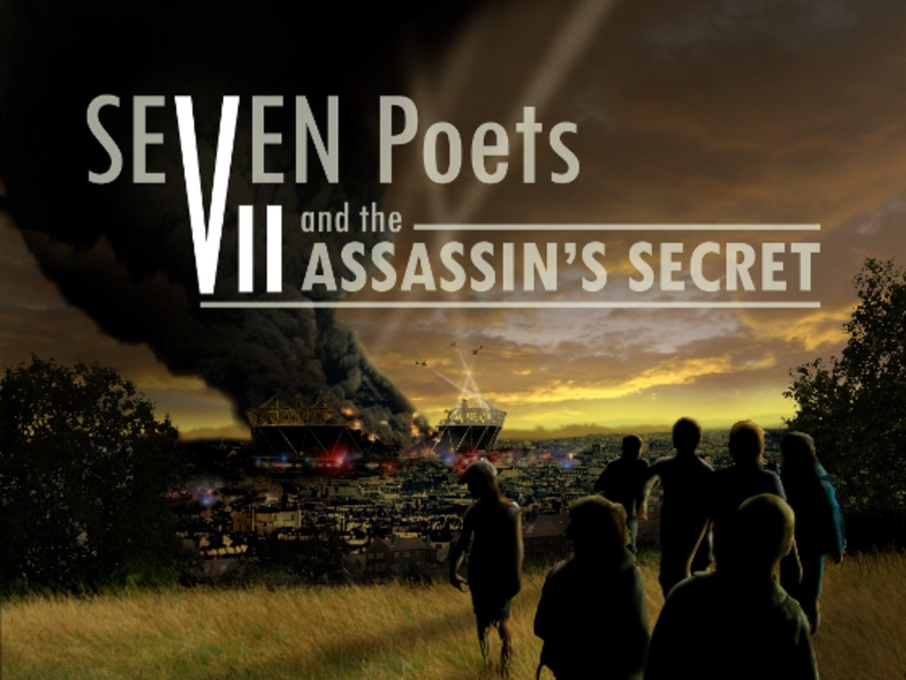 Seven Poets and the Assassin's Secret: a real-time iOS story's video poster