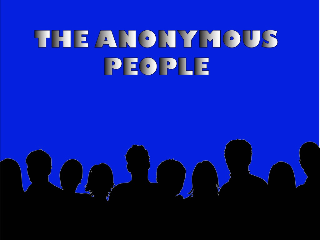The Anonymous People's video poster