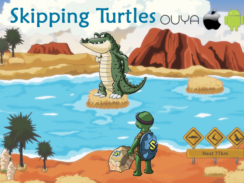 Skipping Turtles - OUYA, iOS, and Android Game Down Under's video poster