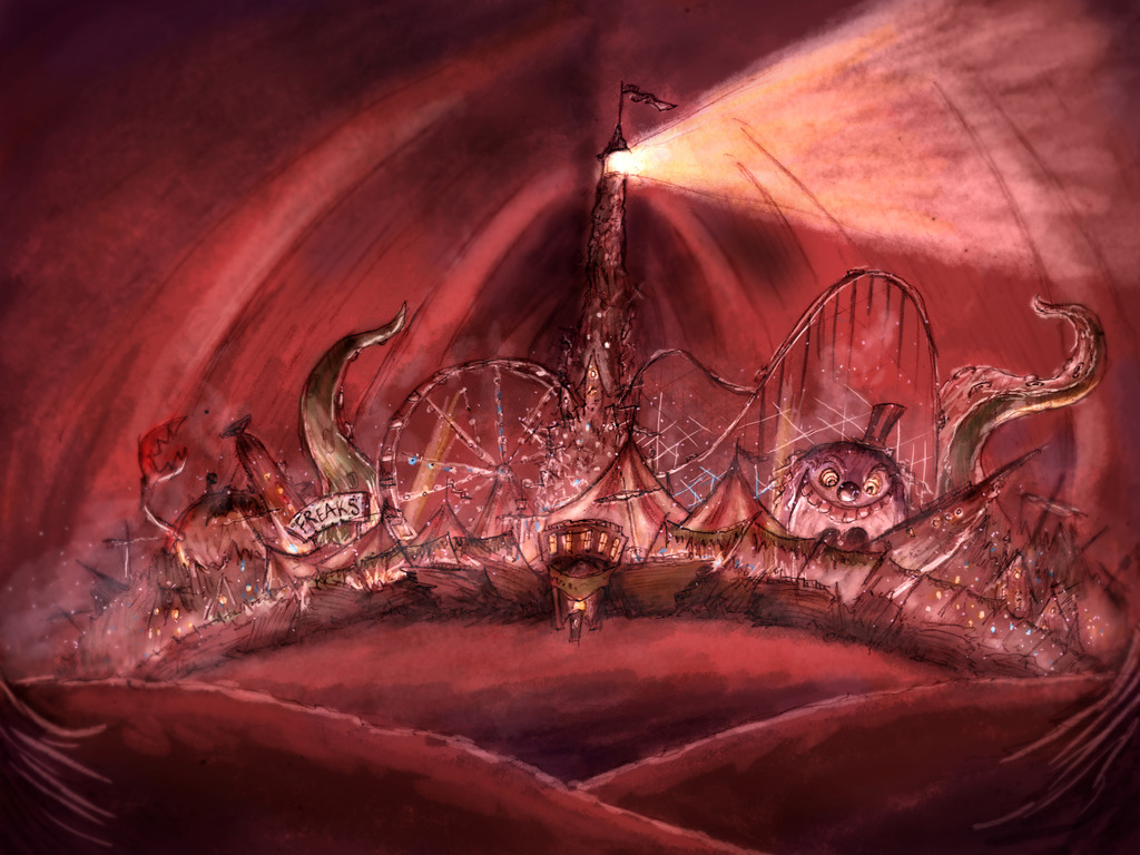 """""""From the Sea"""" Callioscope's video poster"""