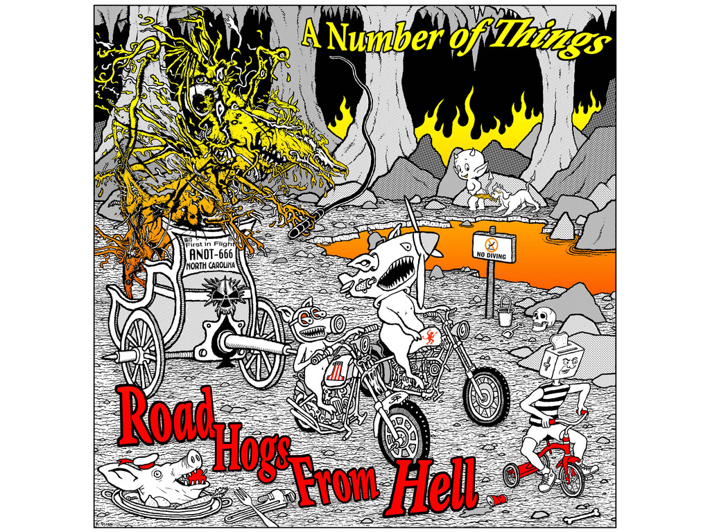 A NUMBER OF THINGS - ROAD HOGS FROM HELL's video poster