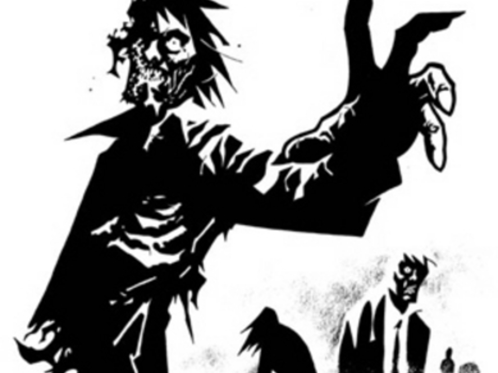 Fighting through the Zombie Apocalypse's video poster
