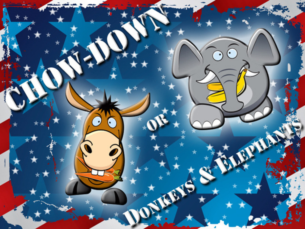 Mobile game: Chow Down or Donkeys & Elephants's video poster