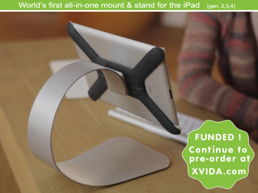 "Boomerang - First ever ""All-in-one iPad Mount & Stand""'s video poster"
