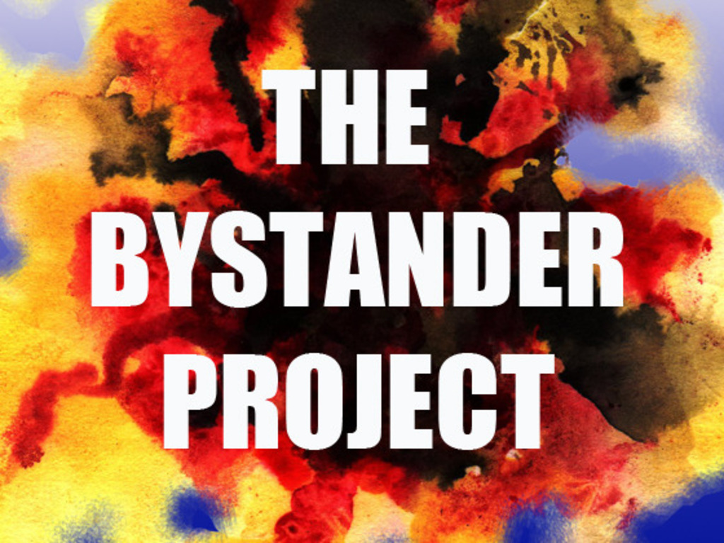 THE BYSTANDER PROJECT ANTI-BULLYING TOUR!'s video poster