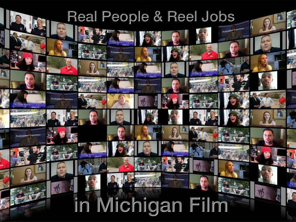 """Real"" People & ""Reel"" Jobs in Michigan's Film Industry's video poster"