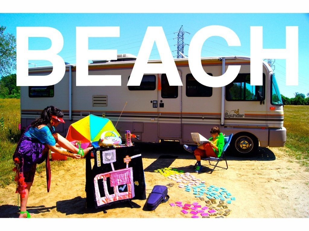 Launch Bitch's new project BEACH: violin indie-electro rock's video poster