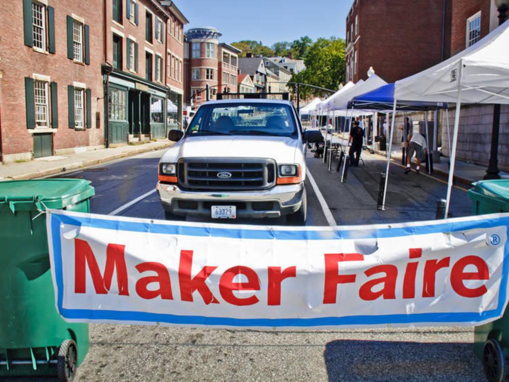 Rhode Island Mini Maker Faire 2012's video poster