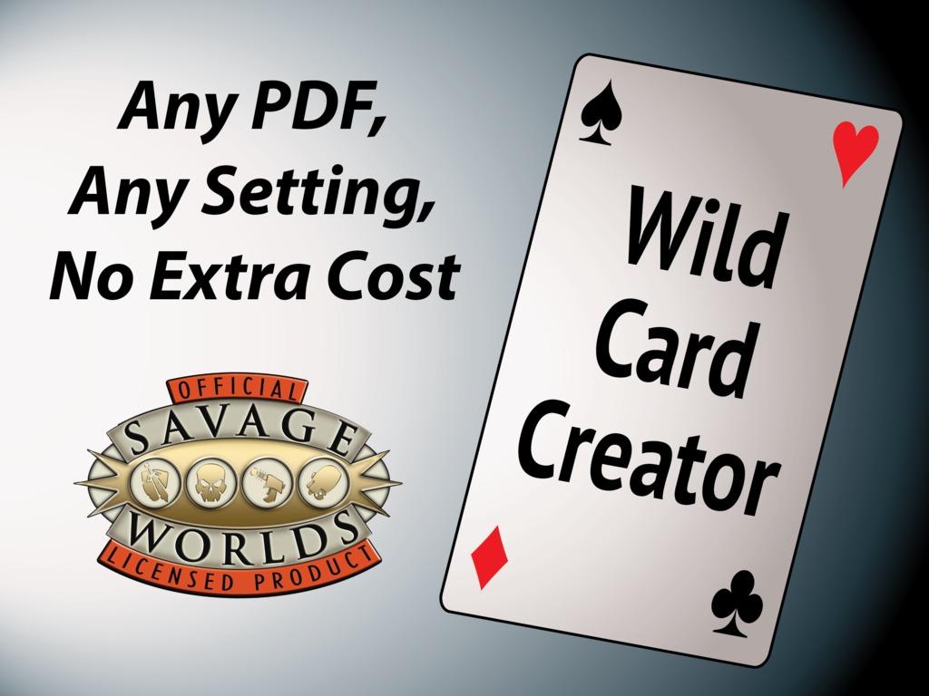 Wild Card Creator's video poster