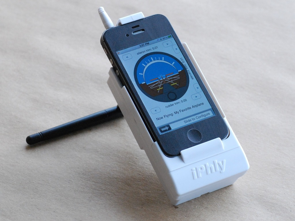 iPhly: Radio Control with iPhone's video poster