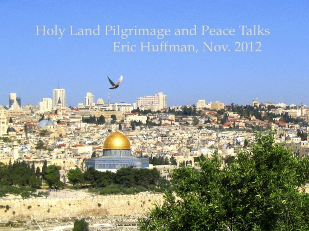 Holy Land Pilgrimage and Peace Talks's video poster