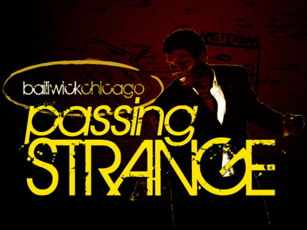 Midwest Premiere of PASSING STRANGE's video poster