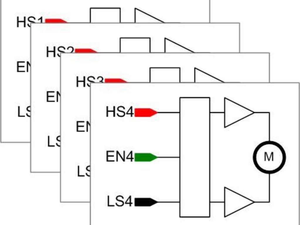 Arduino compitable quad dc motor control board by wai yung Arduino motor control board