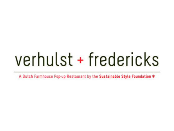 Verhulst + Fredericks:  a pop-up restaurant by SSF's video poster