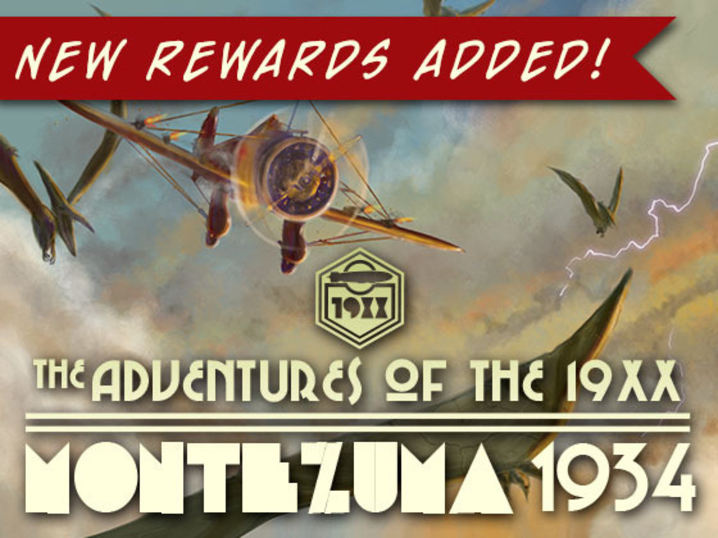 The Adventures of the 19XX: Montezuma 1934 Graphic Novel's video poster