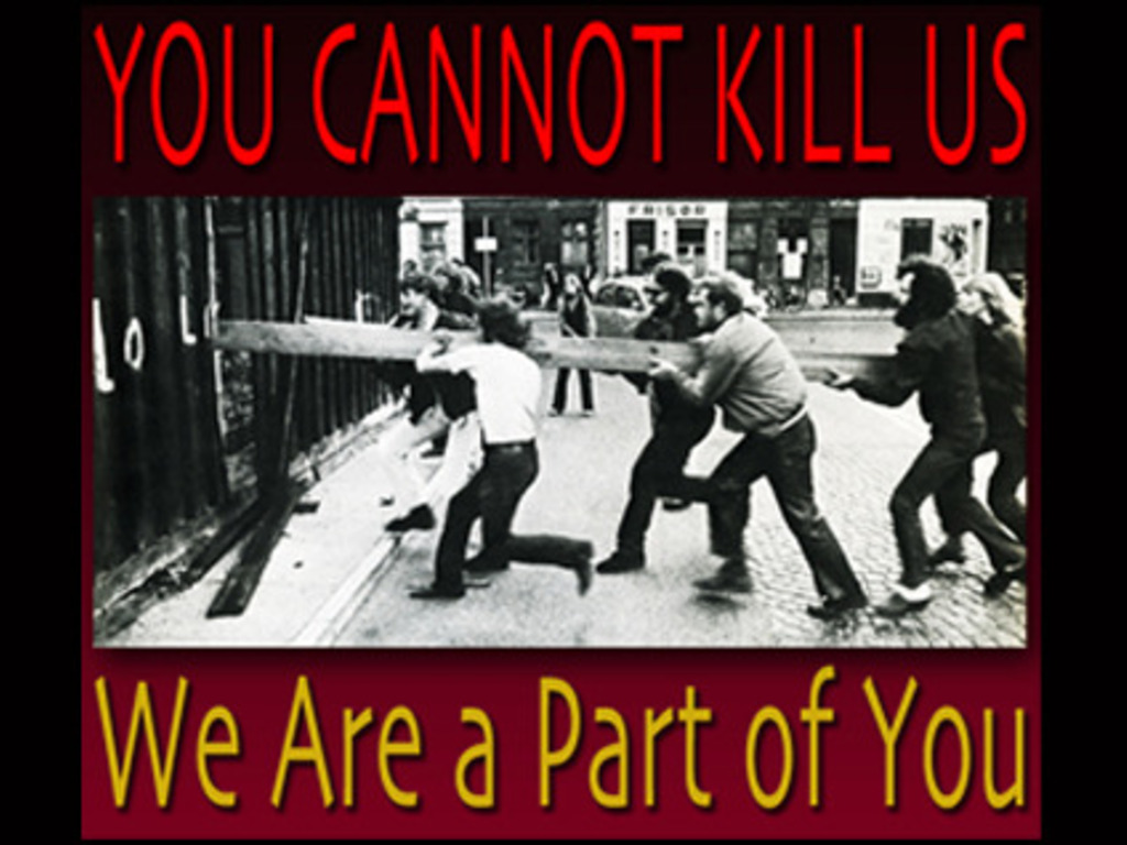 You Cannot Kill Us, We Are a Part of You (Documentary)'s video poster