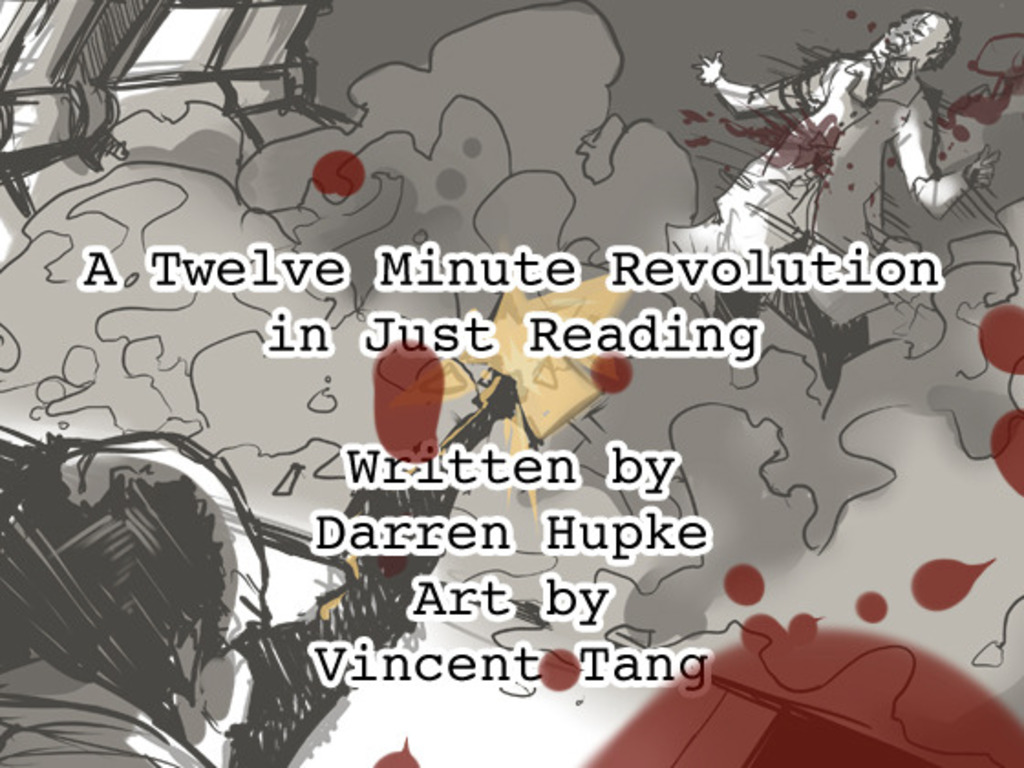 A Twelve Minute Revolution in Just Reading's video poster