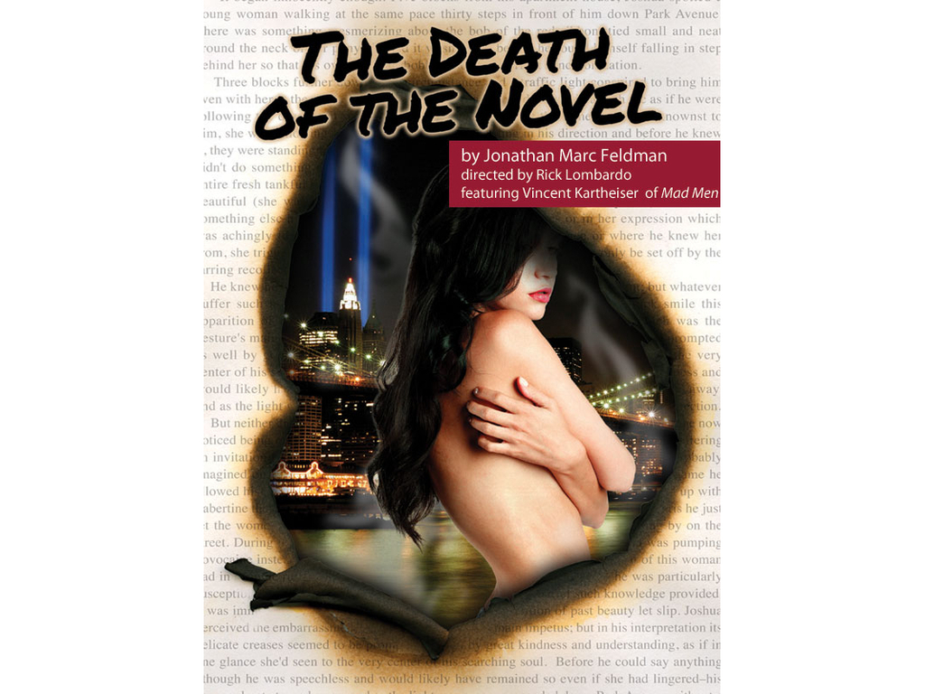 The Death of the Novel's video poster