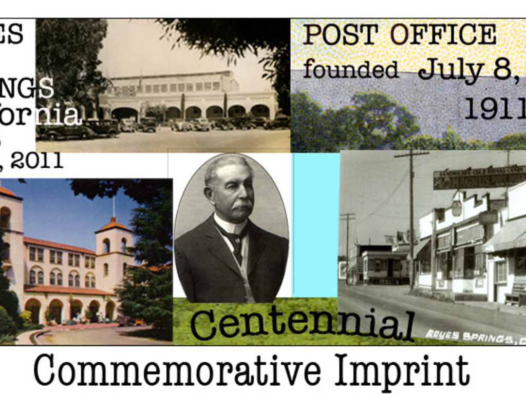 The Boyes Hot Springs Post Office Centennial Celebration's video poster
