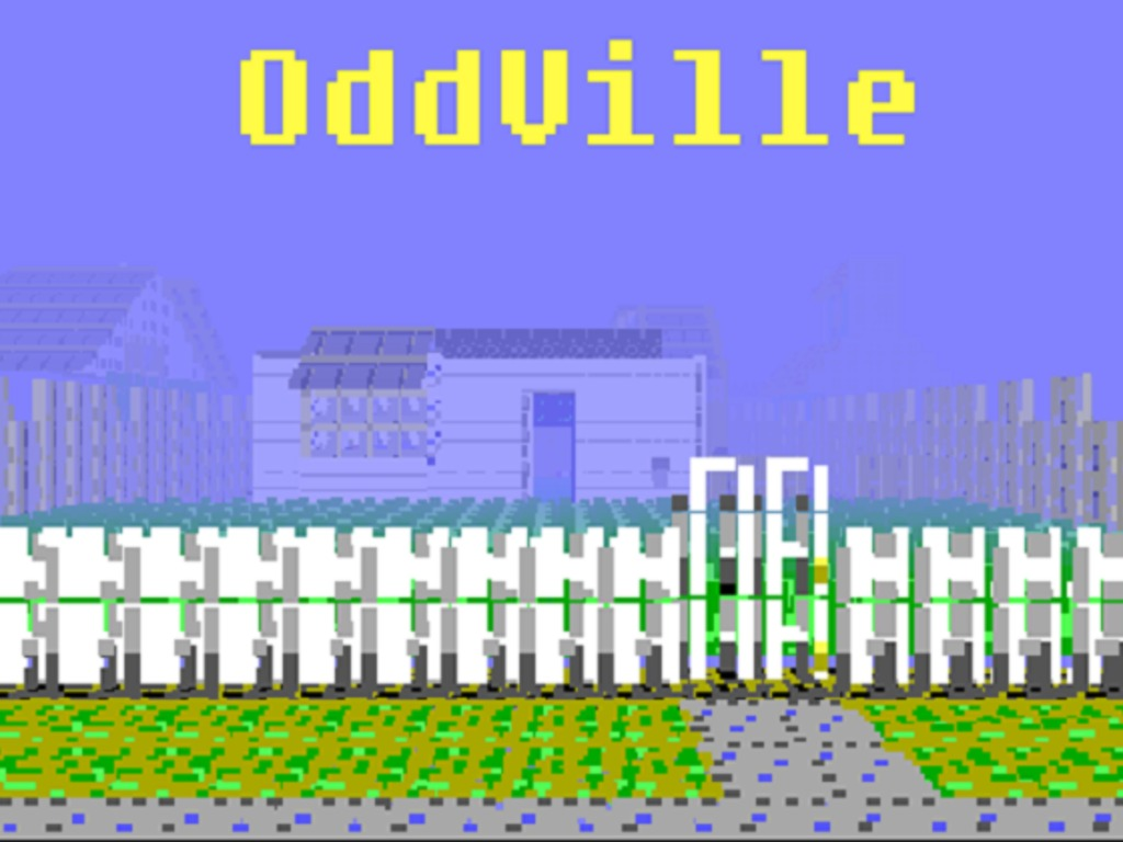 OddVille - An amazing journey in Retro3d's video poster