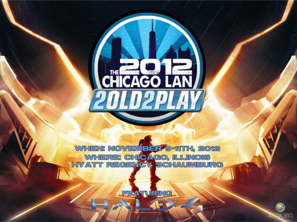 The 2old2play 2012 Chicago Lan Halo 4 Release Party's video poster
