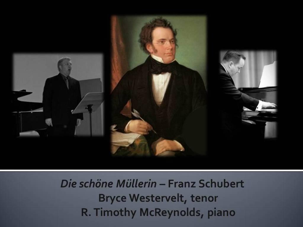 Tenor, Bryce Westervelt's debut CD:  Franz Schubert's Die schöne Müllerin's video poster