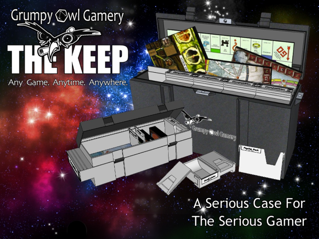 The Keep. Any Game. Anytime. Anywhere. (Canceled)'s video poster
