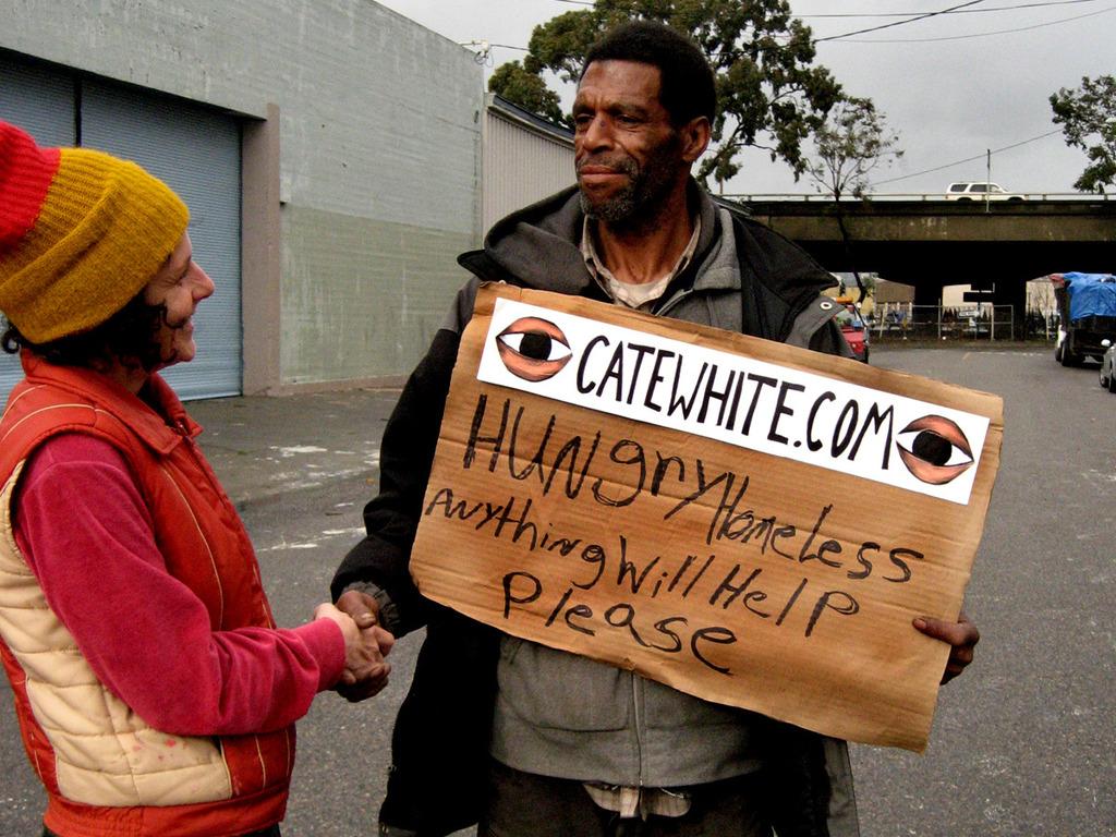 Artist-Panhandler Partnerships: Outsiders Build an Art Market for Fun & Profit's video poster
